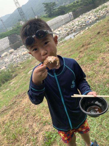 【大山どりPresents 夏を楽しもう! 川遊び&BBQ・ビーチサッカー交流会!!】の報告